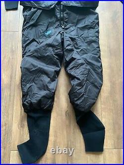 100gm 2 Piece Thinsulate Drysuit Undersuit Typhoon for Scuba