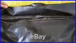 Amron/Nokia Scuba Drysuit Black size Medium No patches Great Shape free ship