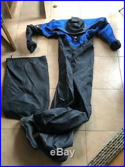 Andy's Scuba Diving Drysuit Size XLarge with Undergarments Excellent Condition