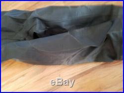 Andys Dry Suit Scuba Diving Small Blue Black