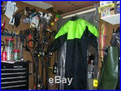 Andys Scuba Drysuit With New Rubber Seals Front Entry Large