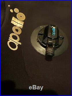 Apollo Dry Suit Drysuit Scuba Diving Made In Japan M Medium