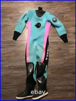 Apollo Drysuit Scuba Diving Boot Size 24 Wet Suit Dive Gear Rare Japan