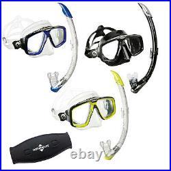 AquaLung Komfort Schnorchelset Look HD + Zephyr Ventil