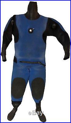 Aqua Lung Apeks Abyss Neoprene Drysuit Size SM/MD Scuba Gear Diving Equipment