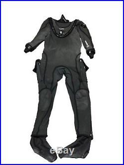 Aqua Lung Apeks Fusion KVR1 Drysuit Size 2XL/3XL Scuba Diving Safety Equipment