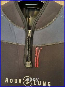 Aqua Lung Balance Comfort 5.5mm Neoprene Semi Dry Wet Suit Size ML