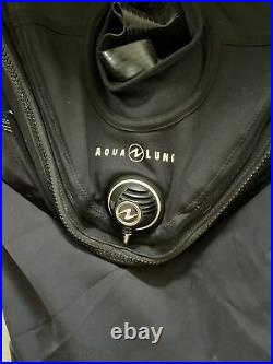 Aqua Lung Fusion Bullet Drysuit Lg/xl Great Condition See Photos