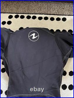 Aqua Lung Fusion Bullet Drysuit Lg/xl Great Condition + Under Suit