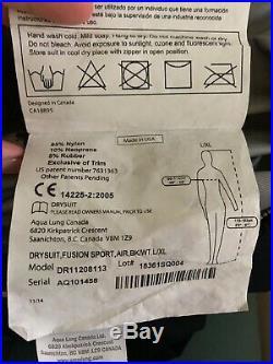 Aqua Lung Fusion Sport with AirCore Drysuit SCUBA