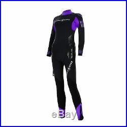 Aqua Lung Ladies Diving Suit 5 MM Balance Comfort With Back Zip