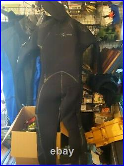 Aqua Lung Solafx Men's 7/8mm Semi Dri Wet Suit Size MLL