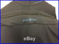 Aqua Lung / Whites Fusion One Scuba Drysuit Size L/XL LIKE NEW