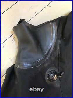 Aqua-tek Vision Drysuit Large Scuba Pursuits Diving Front Entry Self Donning