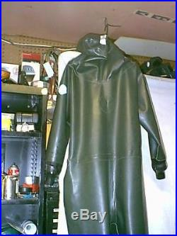Aquala Cordell All Rubber Scuba Diving Drysuit Men Size Large