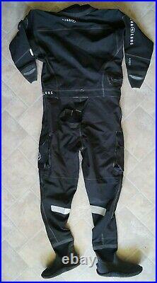 Aqualung Alaskan Trilaminat-Trockentauchanzug Mit Boots Drysuit Herren Gr. L