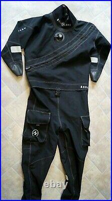 Aqualung Alaskan Trilaminat-Trockentauchanzug Mit Boots Drysuit Herren Gr. XL