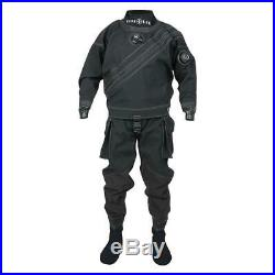 Aqualung Alaskan With Sock Black T64134/ Dry suits Unisex Black, Dry suits