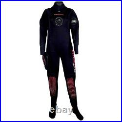 Aqualung Blizzard 4 MM Dry Suits Suits And Complements Blue, Blue