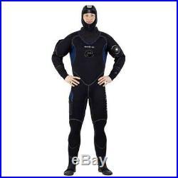 Aqualung Blizzard 7 Mm Black T14407/ Dry suits Unisex Black, Dry suits Aqualung