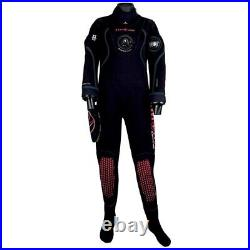 Aqualung Blizzard Pro 4 MM Dry Suits Suits And Complements Black