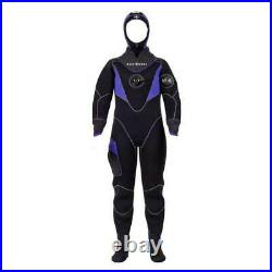 Aqualung Blizzard Pro 4 Mm Dry suits Suits and complements Black Black Aqualung