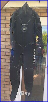 Aqualung Blizzard Pro Drysuit NEW size M with Apeks valves