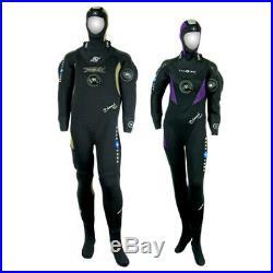 Aqualung Drysuit XS (Size UK 6 dress size), Hood & Zena Zeagle BCD in S/M, NEW