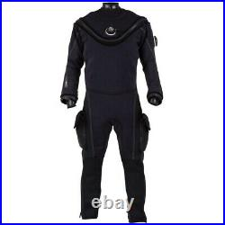 Aqualung Fusion Bullet Aircore Dry Suits Suits And Complements Black, Black