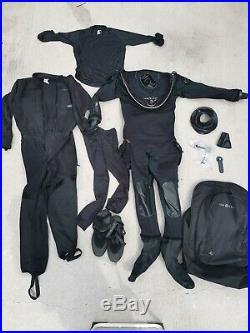 Aqualung Fusion Tech Drysuit Size 2xl/3xl