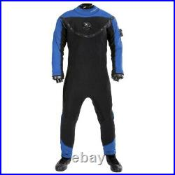 Aqualung Fusion Xscape Dry Suits Suits And Complements Blue, Black, Blue, Black