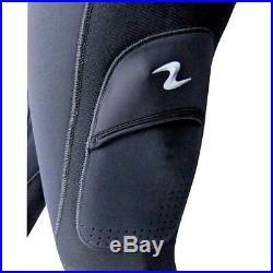 Aqualung Hudson 2 Pieces 7 Mm Black T09891/ Wet suits Unisex Black, Wet suits