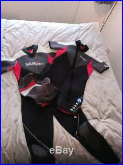 Aqualung Semi-Dry Scuba Diving Suit, (Wet Suit)