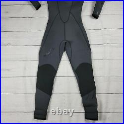 Aqualung SolAfx Semi-Dry Suit Wetsuit 5 mm Mens Size L 10 Used Twice Vent G2