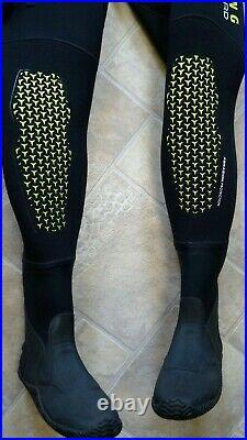 Aqualung Trockentauchanzug Blizzard 4mm Drysuit mit Boots Herren Gr 54 / L Large