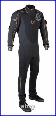Aqualung Whites Fusion Dry Suit, NEW XXS