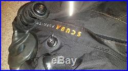 Aquatek vision front entry scuba dry suit