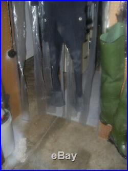 Atlan Neoprene Rubber Scuba Diving Drysuit Large 4 Cold Water