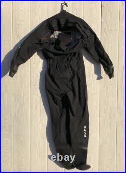 BARE Aqua Trek 1 Womens Medium Tech Dry Suit CM4478-2 Scuba Diving Drysuit