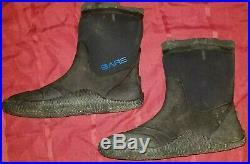 BARE Dry Suit Replacement Boots SCUBA DIVE Diving