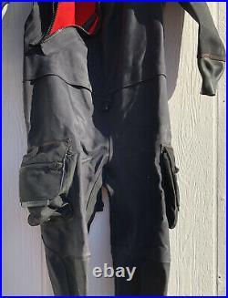 BARE Expedition HD2 Tech Dry XL Suit CM5044-3 Scuba Diving Drysuit