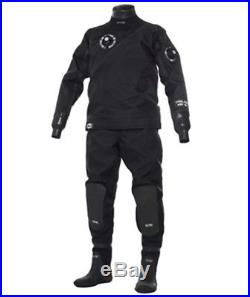 BARE Trilam HD Tech Men's Scuba Diving Large Drysuit With Boot Size XL/10