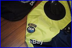 BRAND NEW! DUI TLS 350 scuba diving DRYSUIT Size XL with P-VALVE