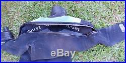Bare D6 NST Pro Drysuit Commercial Scuba Diving Dive Dry Suit Neoprene