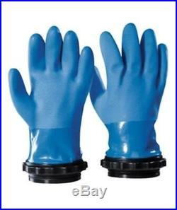 Bare Drysuit Dry Scuba Diving Gloves with Docking Rings & Thermal Liner Large