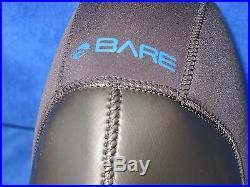Bare Elastek 9mm neosprene Drysuit style Scuba Diving Hood