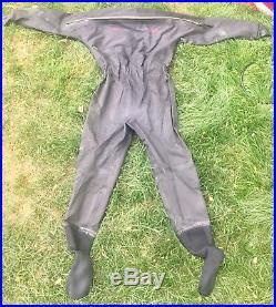 Bare Nex Gen Pro Dry Suit with PolarWear Thermal Undergarment Scuba Unisex Large