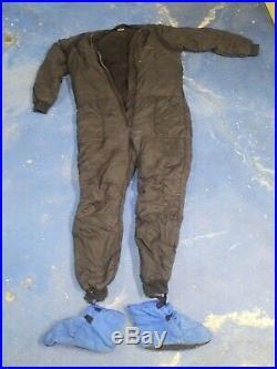 Bare Polarwear Drysuit Scuba Diving Underwear Undergarments With DUI Booties