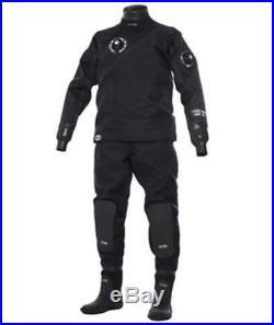 Bare Trilam HD TechDry Scuba Diving Drysuit Size XL Professionally Leak Tested