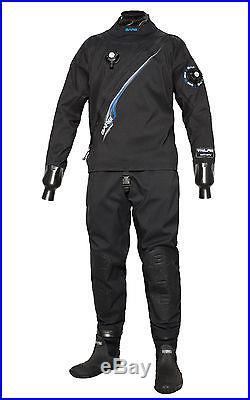 Bare Trilam Tech Dry Drysuit Men's for Scuba, Diving, Mining